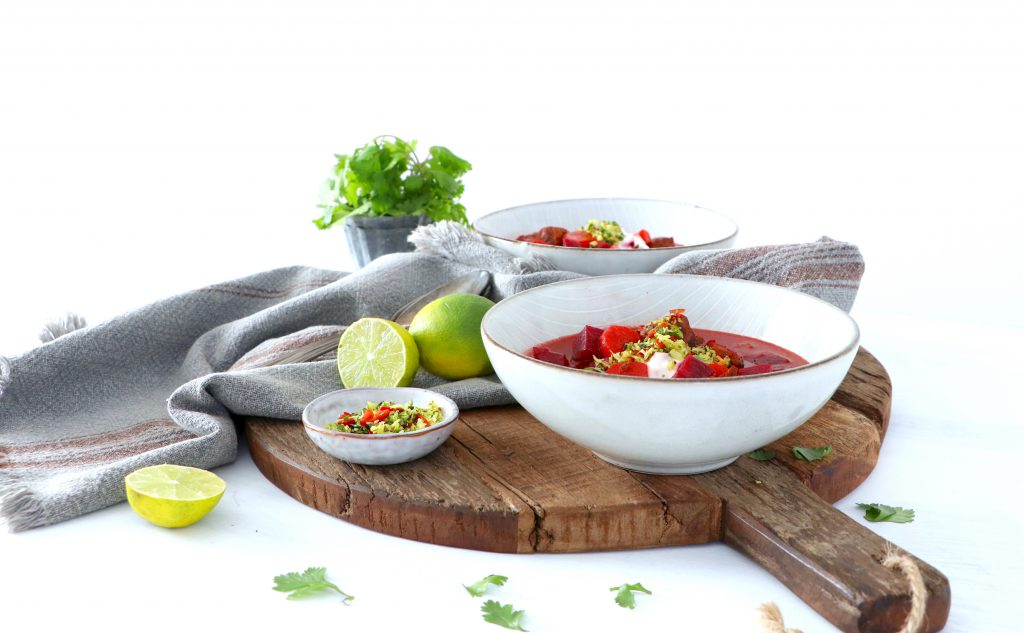 Rote Beete - Gulaschsuppe