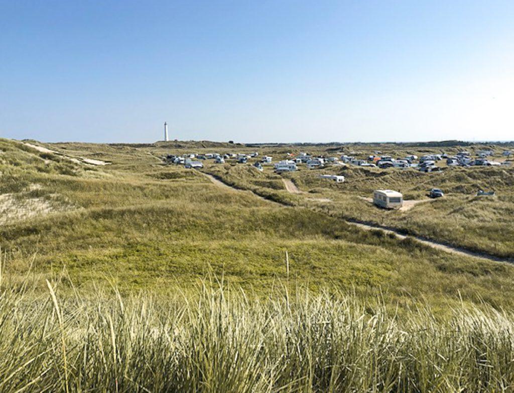 Camping Lyngvik Fyr, einer der schönsten Campingplätze Dänemarks.