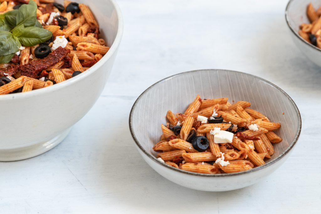 italienischer Nudelsalat: das perfekte Schüsselglück