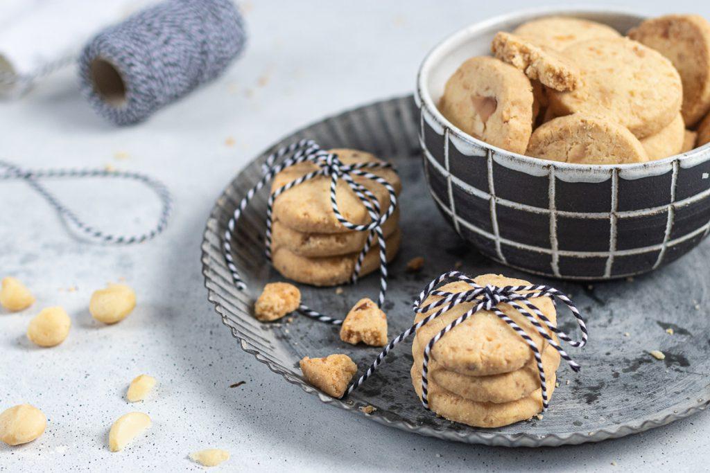 Macadamia Shortbread Cookies: köstliches Gebäck nicht nur für die Weihnachtszeit