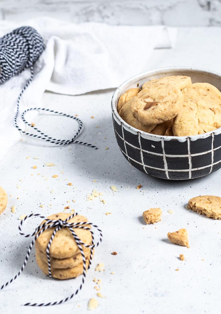 Macadamia-Shortbread-Cookies