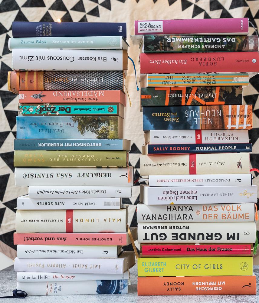 mein Bücherstapel 2020 oder die #50bookschallenge