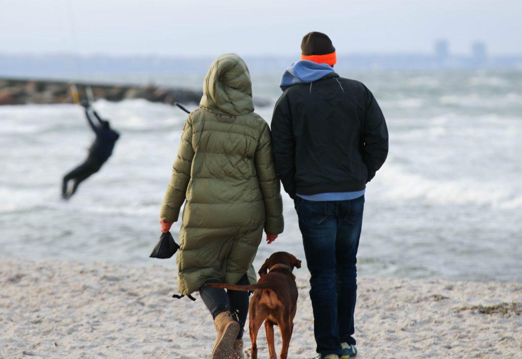 Ostsee-Spaziergang im Winter