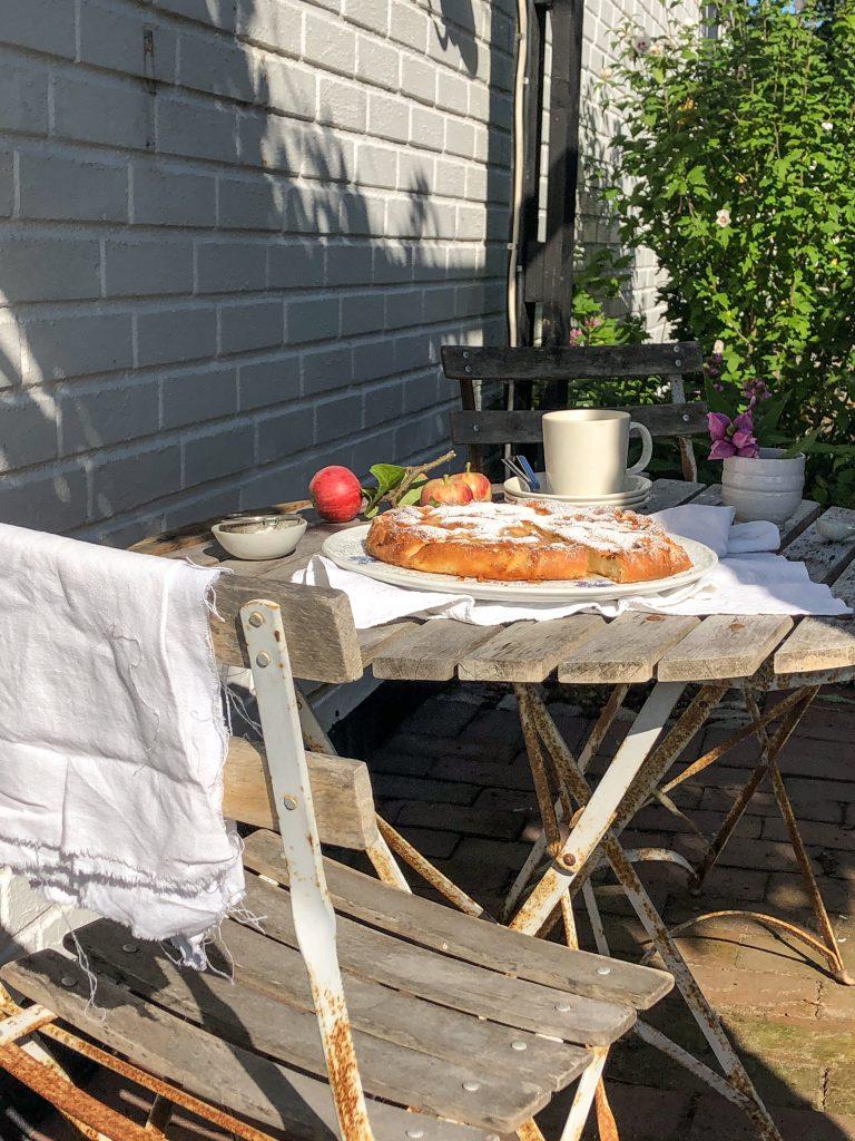 Apfelkuchen aus dreierlei Äpfeln